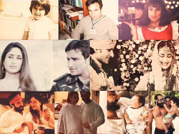 Kareena Kapoor Khan Dedicates a Video to Saif Ali Khan on his 50thBirthday