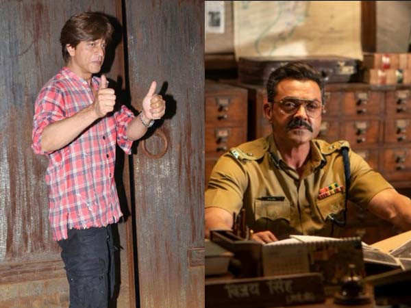 Shah Rukh Khan Releases the Trailer of his Next Venture Featuring Bobby Deol