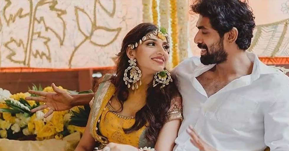 Rana Daggubati and Miheeka Bajaj look adorable in this video from their Haldi ceremony