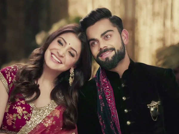 Here's How Much Virat Kohli and Anushka Sharma Were Paid for Featuring in a Commercial Together
