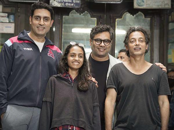 Abhishek Bachchan wraps up shooting for Bob Biswas