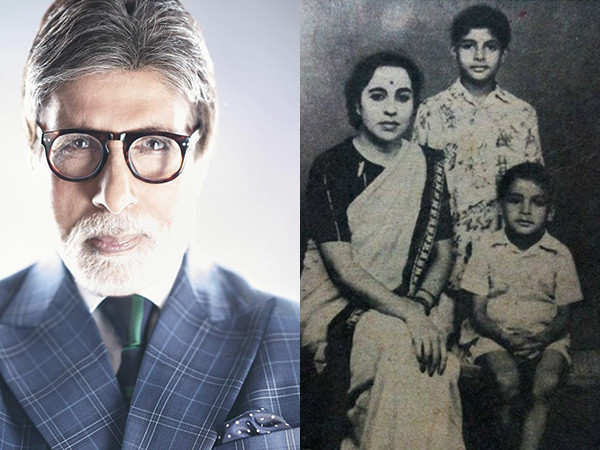 Amitabh Bachchan's throwback family picture is just too cute!
