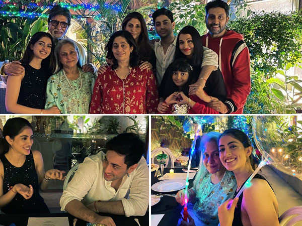All pictures from Amitabh Bachchan's pre-Christmas family dinner | Filmfare.com