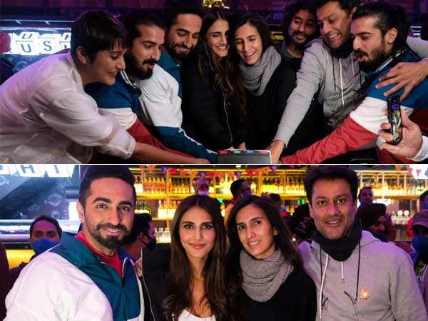 Ayushmann Khurrana and Vaani Kapoor wrap up shooting for Chandigarh Kare Aashiqui