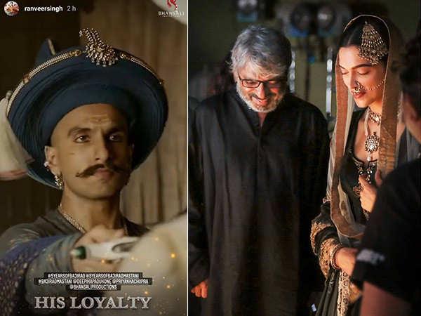 Deepika Padukone and Ranveer Singh celebrate 5 years of Bajirao Mastani with special posts