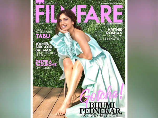Bhumi Pednekar graces the December cover of Filmfare