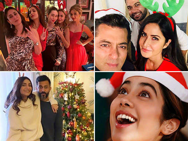 Best throwback pictures from B-town's Christmas parties