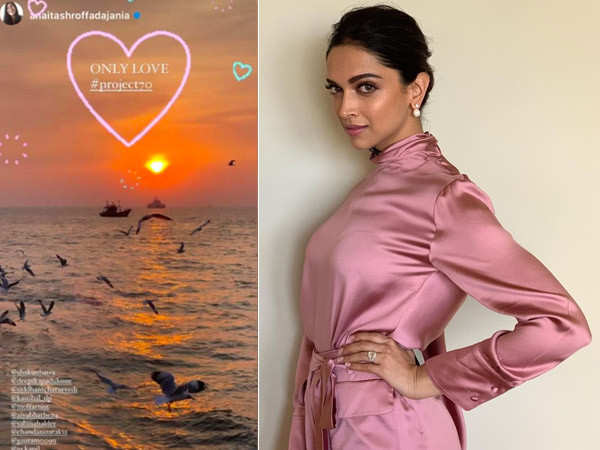 Deepika Padukone shares a story that hints at the title of her next film with Shakun Batra
