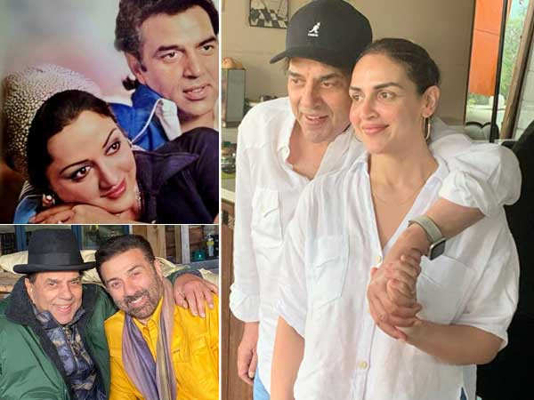 Family Showers Love On Dharmendra On His Birthday