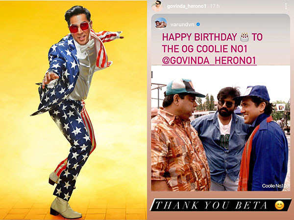 Govinda Replies to Varun Dhawan's Birthday Wish Despite The Actor's Fallout With David Dhawan