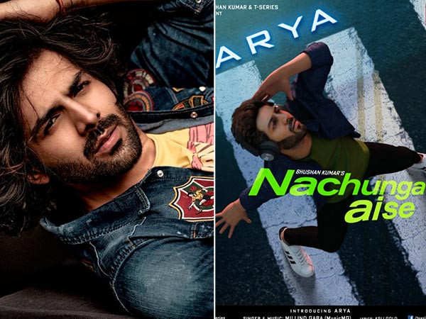 Kartik Aaryan Gives Us a Glimpse Of His Digital Avatar For His First Music Video Nachunga Aise