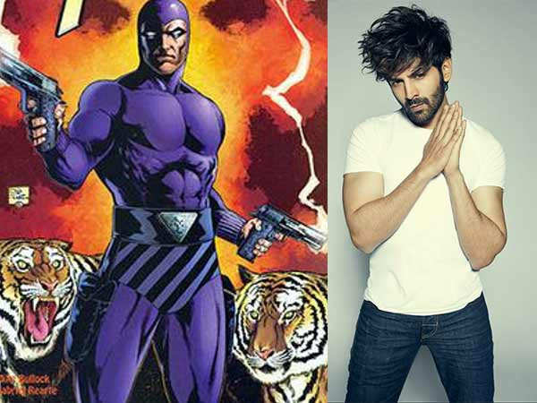 Kartik Aaryan Signs His First Superhero Film Titled Phantom