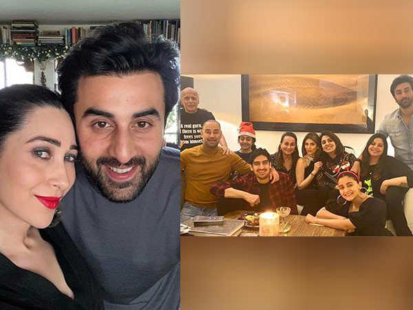 Ranbir Kapoor and Alia Bhatt's Christmas dinner party was all things fam-jam!