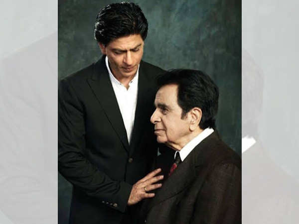 Shah Rukh Khan's birthday wish for Dilip Kumar is all heart