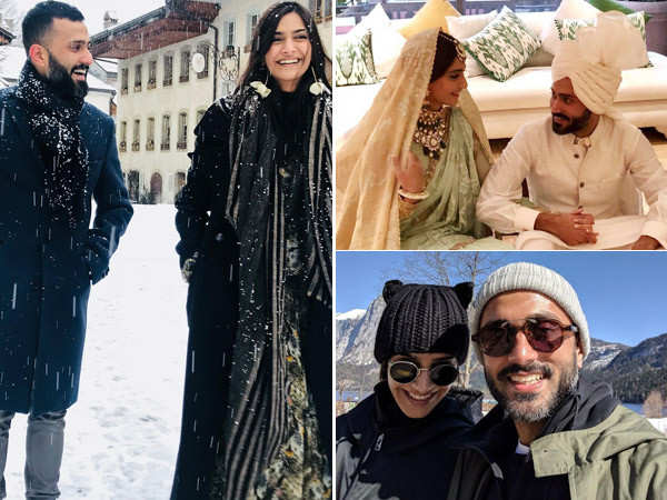 Sonam Kapoor Ahuja shares some awesome pictures with Anand Ahuja