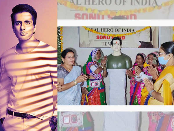 Sonu Sood's well-wishers now build him a temple in a village in Siddipet