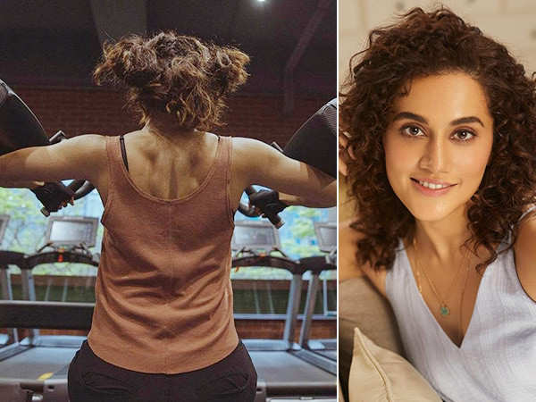 Taapsee Pannu Is Having A Bad Hair Day But Her Fitness Game Is A Perfect 10