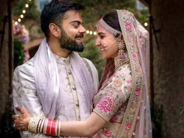 Anushka Sharma and Virat Kohli celebrate 3 years of marriage