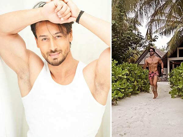 Tiger Shroff flaunting his hot bod from his vacay raises the temperature