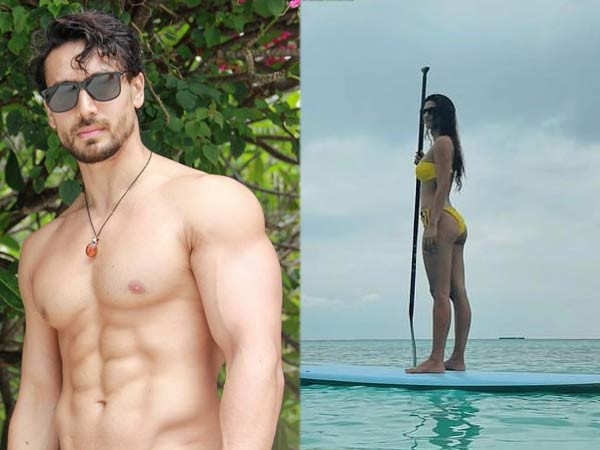 These pictures and videos from Tiger Shroff and Disha Patani's holiday are unmissable