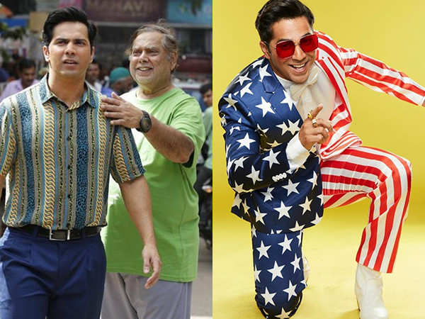 Here's how Varun Dhawan feels working with his father David Dhawan in Coolie No 1