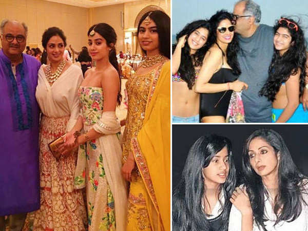 20 endearing photos of late Sridevi with her family