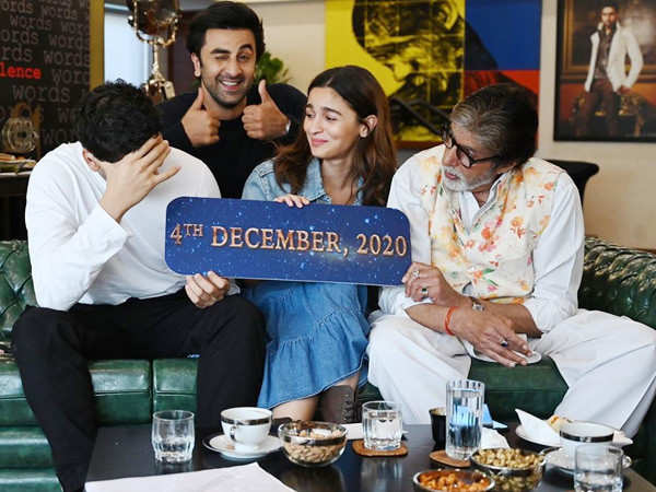Alia Bhatt and Ranbir Kapoor starrer Brahmastra to release on December 4