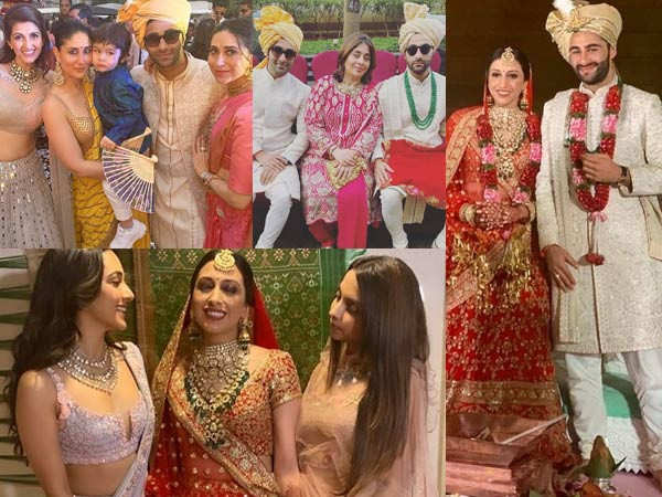 All inside pictures and videos from Armaan Jain grand wedding ceremony