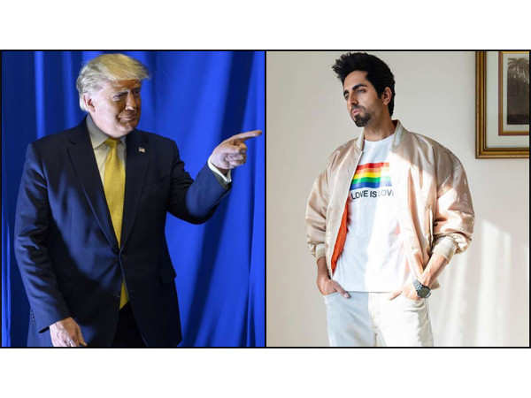Ayushmann Khurrana responds to Donald Trump's comment on Shubh Mangal Zyada Saavdhan