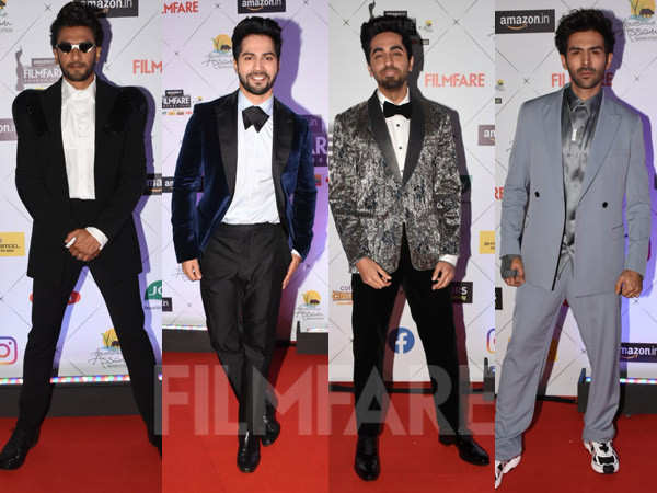 Best Dressed Actors of the 65th Amazon Filmfare Awards 2020