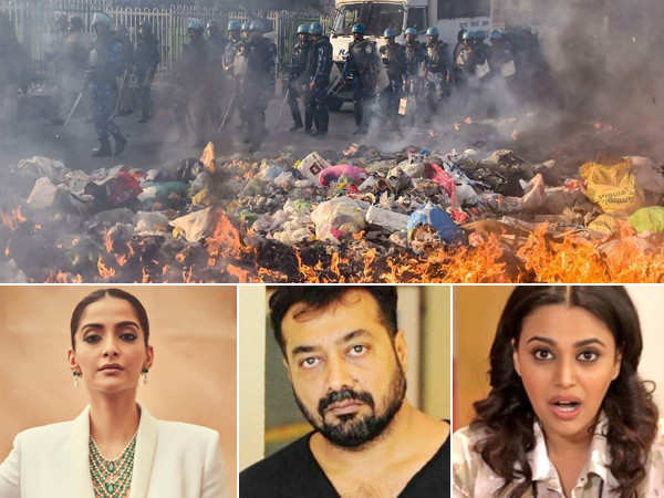 Here's how Sonam Kapoor, Swara Bhasker, Anurag Kashyap and others reacted to the Delhi riots