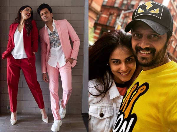 Genelia D'Souza and Riteish Deshmukh's anniversary wish for each other is unmissable