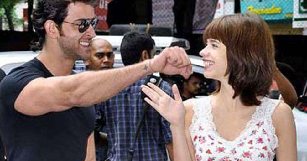 Hrithik Roshan drops a sweet comment on Kalki Koechlin's picture with her b