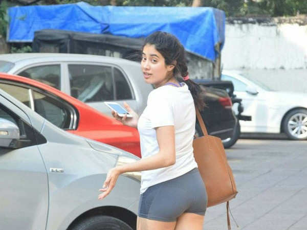 Janhvi Kapoor reacts to the attention she gets on her gym looks