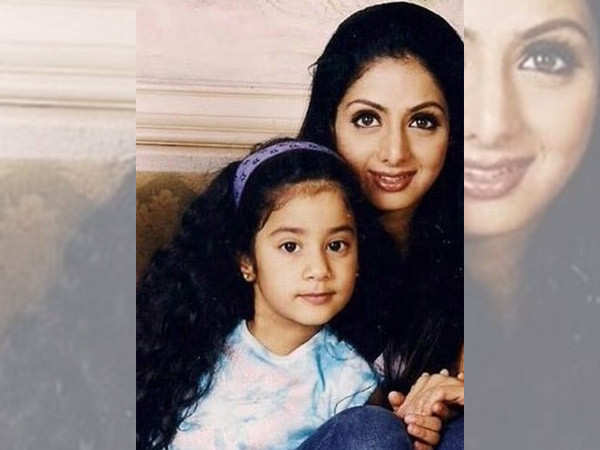 Janhvi Kapoor posts a  picture with late Sridevi on the latter's death anniversary