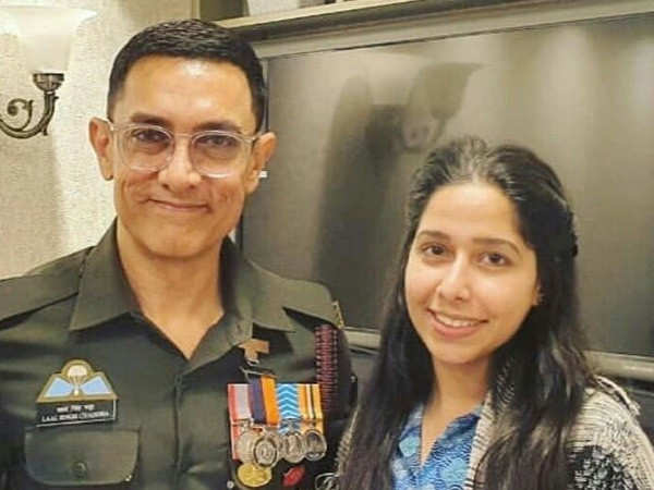 Leaked: Picture of Aamir Khan in a uniform from the sets of Laal Singh Chaddha