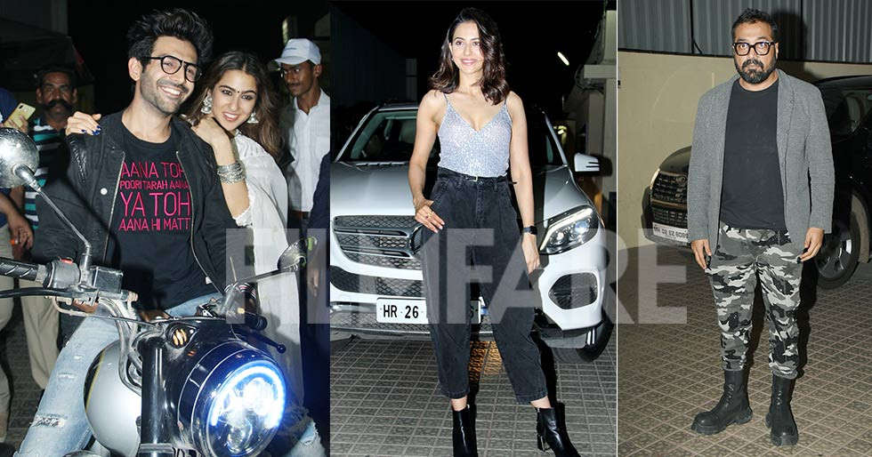 Photos: Celebs who attended the special screening of Love Aaj Kal