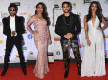 Madhuri Dixit Nene, Ranveer Singh, Siddhant Chaturvedi at the 65th Amazon Filmfare Awards