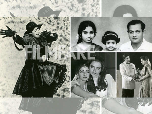 Rare and unseen pictures of Sridevi