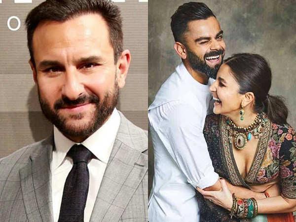 """Anushka Sharma and Virat Kohli are acing at marriage"" – Saif Ali Khan"