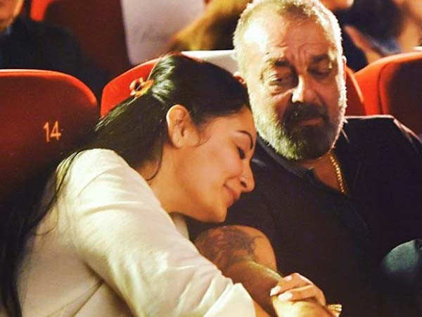 Sanjay Dutt and Maanayata Dutt's anniversary post for each other is adorable