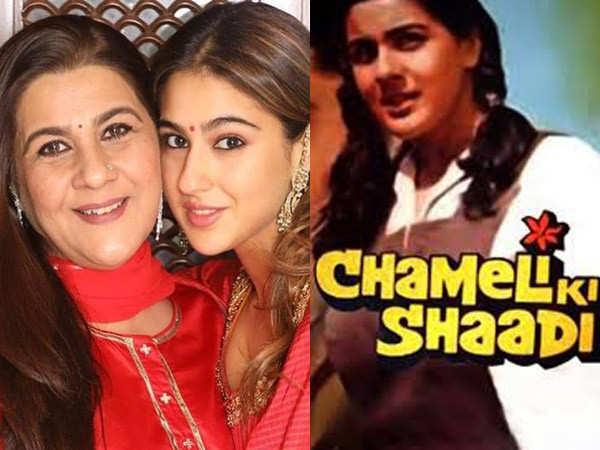 Exclusive: Sara Ali Khan offered the remake of Amrita Singh's Chameli Ki Shaadi