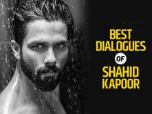 Best dialogues of Shahid Kapoor