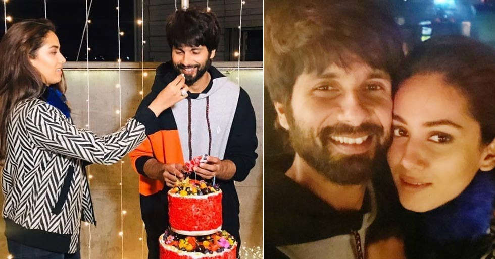All inside pictures and videos from Shahid Kapoor's birthday celebration
