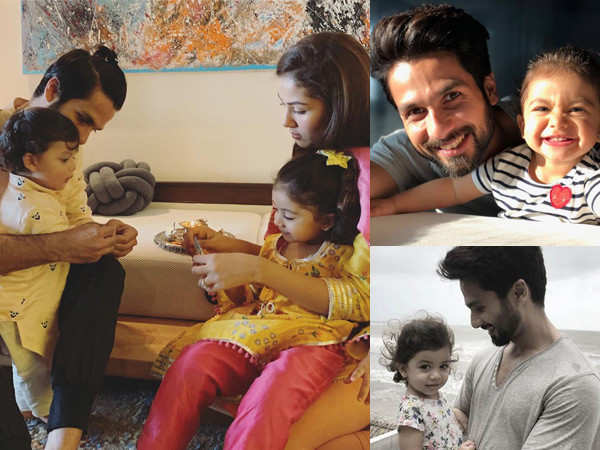 10 times Shahid Kapoor gave us parenting goals