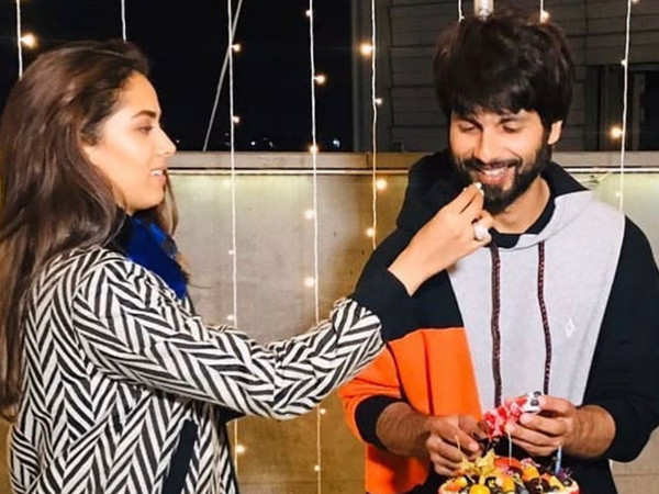 Mira Kapoor shares a lovely picture with Shahid Kapoor on his birthday