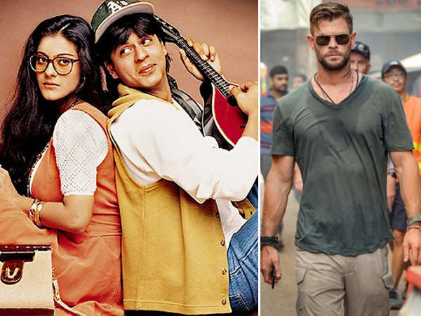 Watch Chris Hemsworth mouthing Shah Rukh Khan's iconic DDLJ dialogue |  Filmfare.com