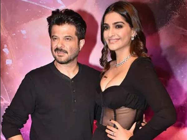 Sonam Kapoor Shares An Appreciation Post For Her Father Anil Kapoor Filmfare Com