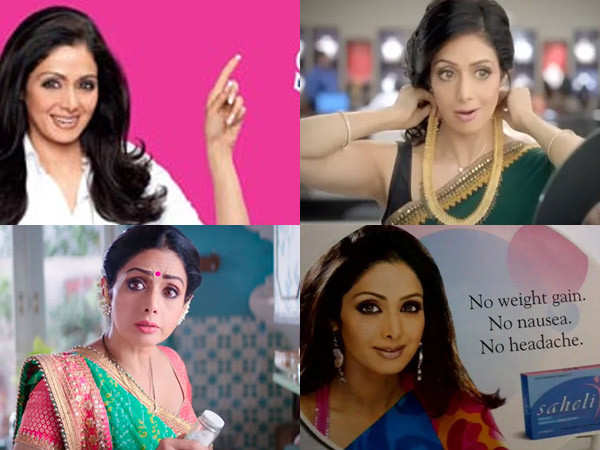 Sridevi commercial
