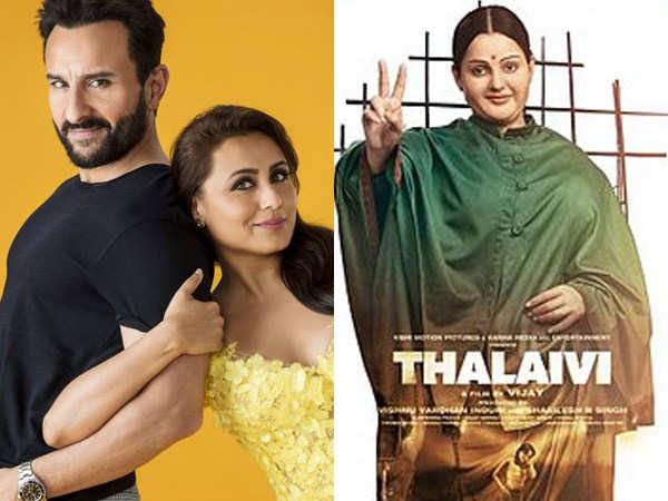 Thalaivi and  Bunty Aur Babli 2 to lock horns at the box-office